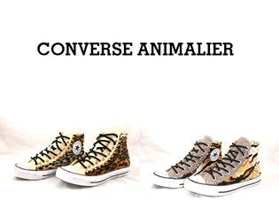 converse animalier