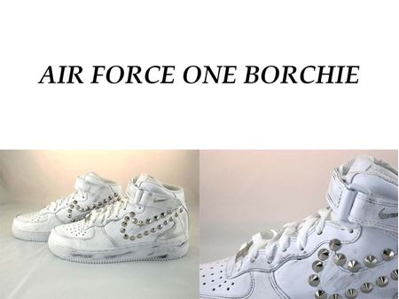 air force 1 con borchie